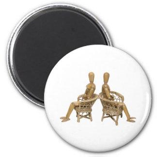 ArguementBetween061809 6 Cm Round Magnet