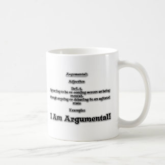 Argumental Basic White Mug