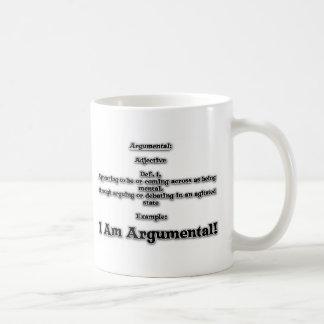 Argumental Basic White Mug