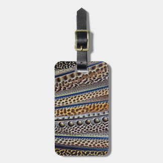 Argus Pheasant wing feathers Luggage Tag