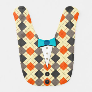 Argyle Barbecue Bib