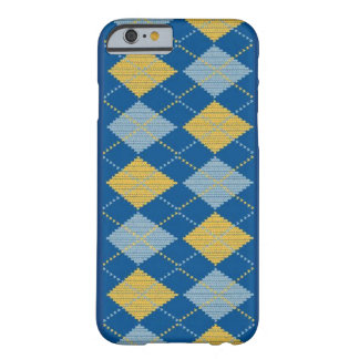 Argyle Blue iphone case