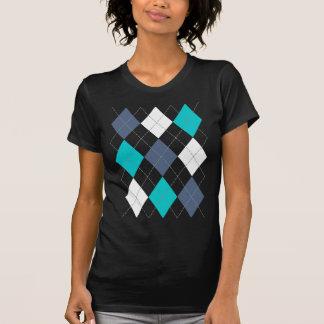 "Argyle: Code Name ""Eclectic Blue"" shirt (dark)"