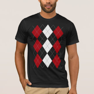 "Argyle: ""Crimson Red Innocence"" shirt (dark)"