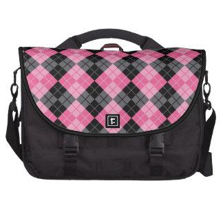 Argyle Design Laptop Commuter Bag