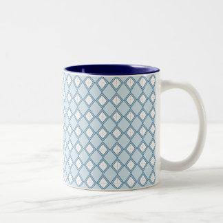 Argyle/Diamond Coffee Mug