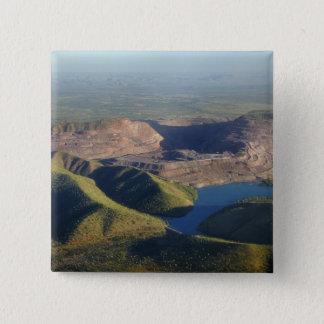 Argyle Diamond Mine 15 Cm Square Badge