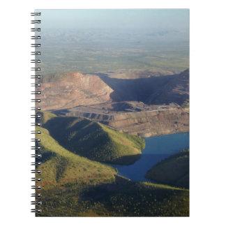 Argyle Diamond Mine Spiral Note Book