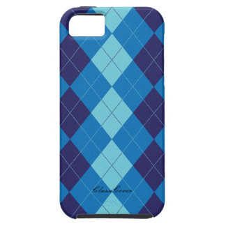 Argyle Ice Blue Case Mate