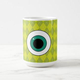 Argyle Mike Wazowski Coffee Mug