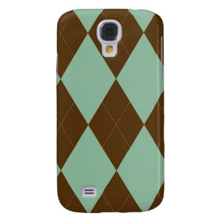 - Argyle - Mint Chocolate Galaxy S4 Case
