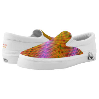 Argyle mix Slip-On shoes