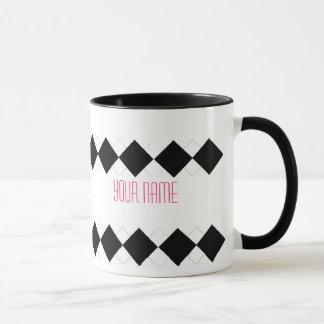 Argyle Mug - Personalized