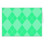 Argyle Note Card