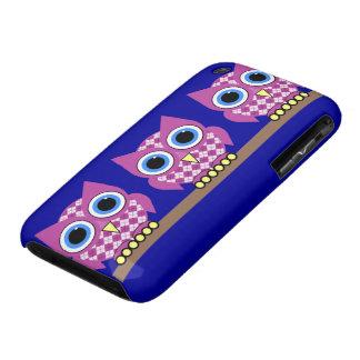 argyle owls Case-Mate iPhone 3 case