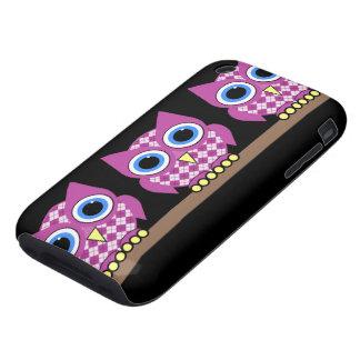argyle owls iPhone 3 tough covers