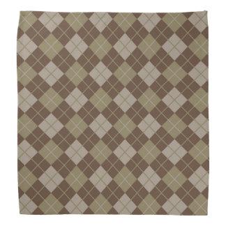 Argyle Pattern Bandana