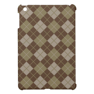 Argyle Pattern Cover For The iPad Mini