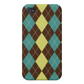 Argyle Pattern iPhone4 4s Hard Case iPhone 4 Covers