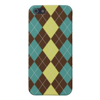 Argyle Pattern iPhone4/4s Hard Case iPhone 5 Case