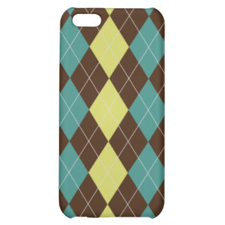 Argyle Pattern iPhone4 4s Hard Case Cover For iPhone 5C