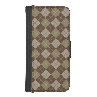 Argyle Pattern iPhone SE/5/5s Wallet Case