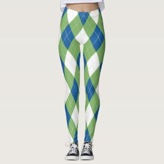 Argyle Pattern Leggings