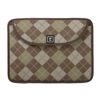 Argyle Pattern Sleeve For MacBooks