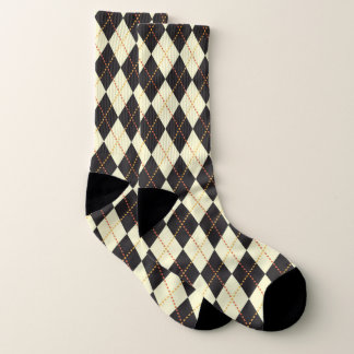 Argyle Pattern Socks