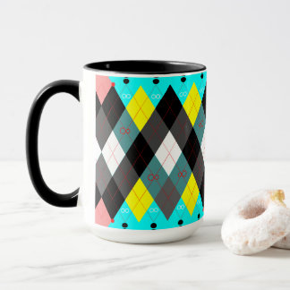 Argyle Revisited 7 Mug