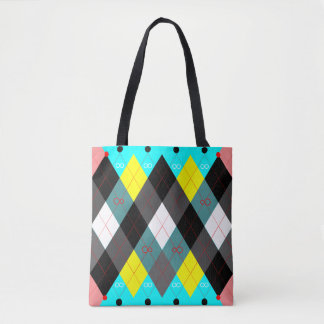 Argyle Revisited 7 Tote Bag
