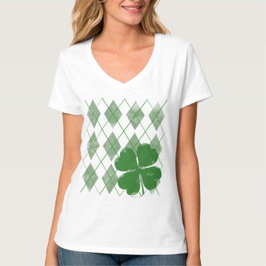 Argyle Shamrock Women's T-Shirt
