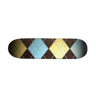 Argyle Skate Board Deck