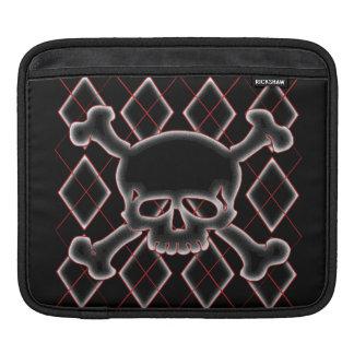 Argyle Skull iPad Sleeves