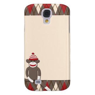 Argyle Sock Monkey HTC Vivid Case