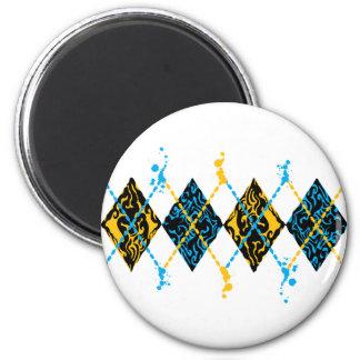 Argyle Tribal Magnets