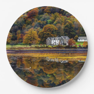 Argyll Scottish Highlands landscape Paper Plate