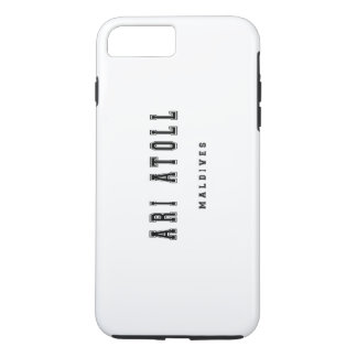 Ari Atoll Maldives iPhone 7 Plus Case
