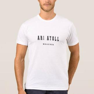 Ari Atoll Maldives Tee Shirt