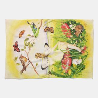 Ariadne Fairy Tea Towel