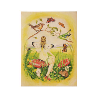 Ariadne Fairy Wood Poster
