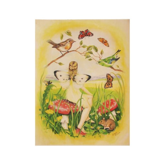 Ariadne Fairy Wood Poster