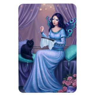 Ariadne Peacock Butterfly Fairy Flexible Magnet