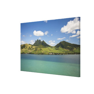 Arial view of Lion Mountain, South East Canvas Print