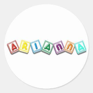 Arianna Stickers