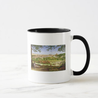 Ariccia, Italy, 1860 (oil on panel) Mug