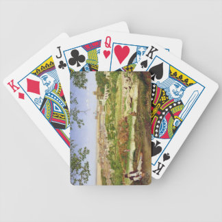 Ariccia, Italy, 1860 (oil on panel) Poker Deck
