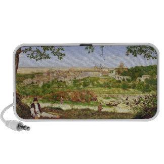 Ariccia, Italy, 1860 (oil on panel) Notebook Speakers