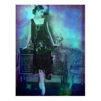 Ariceli - Blue Green Dream Postcard