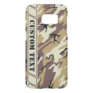 Arid Brown Camo Phone Case w/ Custom Text